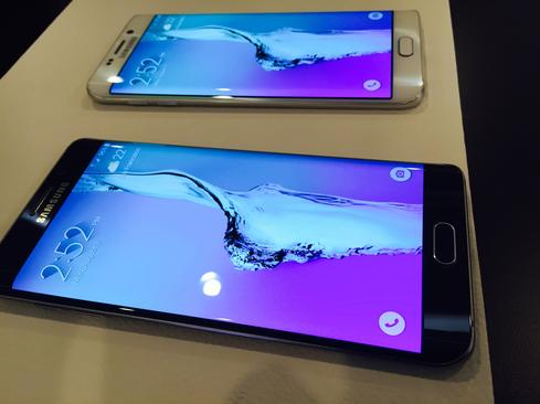Samsung Galaxy Note 5, S6 Edge+: Side By Side