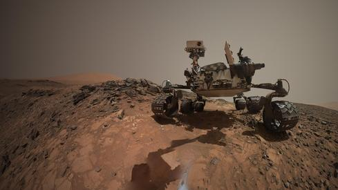 NASA's Curiosity Mars rover takes a selfie (Image: NASA/JPL-Caltech/MSSS)