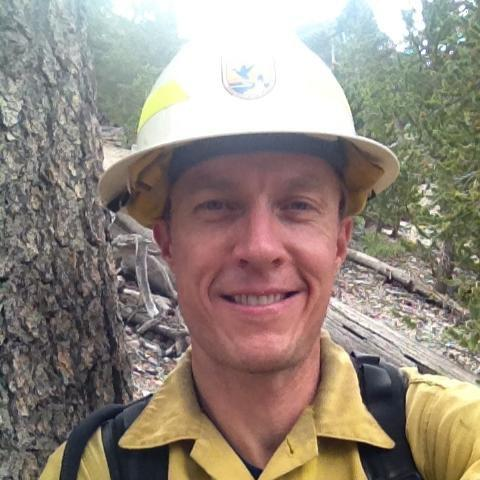 Cameron Tongier, geo-spatial coordinator for the US Fish and Wildlife Service Fire Management Branch  (Image: Courtesy of Cameron Tongier)