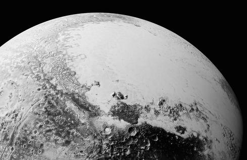 A Bird's Eye View Of Pluto's Surface  