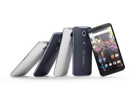 Google's Nexus 6 (Image: Google)