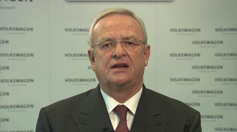 (Image: CEO Martin Winterkorn, Volkswagen)