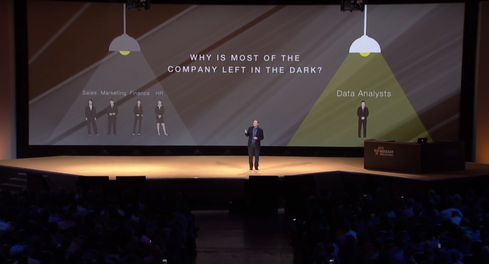 AWS senior vice president Andy Jassy introduces QuickSight