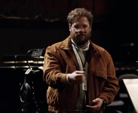 Wrong: Wozniak's Aggression  In Steve Jobs, Apple cofounder Steve Wozniak (portrayed by Seth Rogen) often voices his disagreement with Jobs in emotional on-screen conflicts. Wozniak, who spent 'hours and hours' consulting for the film with Sorkin, admits these moments of conflict did not actually happen. 'Maybe everything in the movie didn't happen,' said Wozniak to Bloomberg TV. 'Everything I say, every scene that I'm in, I wasn't talking to Steve Jobs at those events.' One example, near the end of the movie, is a heated discussion between Wozniak and Jobs moments before the 1998 iMac launch. In the scene, Wozniak is requesting Jobs acknowledge the Apple II team during his keynote address. In reality, the cofounder says, their exchange is fabricated. In an email to Tech Insider, Wozniak writes how he 'was behind Jobs and the products at each introduction' and 'would never even talk to a friend that way.' Wozniak's behavior towards Jobs in the aforementioned scene, he claims, is based on a phone call Wozniak made to Sculley on behalf of employees who were not recognized for their roles in driving Apple profits and therefore ready to quit. He says 'the sentiment among many was like that portrayed by my character, so their feelings were put into my mouth for the movie.' However, the scene does not reflect Wozniak's true character. (Image: Steve Jobs official trailer)