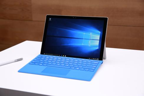 Microsoft Surface Pro 4 at Windows 10 Devices Event, Oct. 6, 2015.