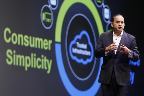 VMware's Sanjay Poonen at VMWorld Europe 2015.