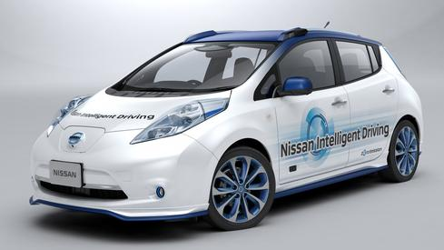Nissan Enters The Self-Driving Car Market  Just this week, Japanese automaker Nissan announced it would start testing self-driving vehicles. The company is developing an advanced form of vehicle intelligence called Nissan Intelligent Driving, which is composed of various innovative features that will be introduced in stages. By 2018, Nissan plans to implement a multiple-lane piloted drive that can conduct lane changes on highways. (Image: Nissan)