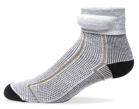 Sensoria Fitness Smart Socks It's an old complaint: the holiday present of underwear. But if it's this underwear you find under the tree, you may not complain.  Sensoria Fitness makes several items of wearable fitness clothing that track your heart rate, monitor body movement, and connect with a mobile app. While the company makes a Fitness Smart Sports Bra ($139) and a Fitness Smart T-shirt ($139), I'm drawn most to the Fitness Smart Socks 'because who in his right mind would spend $199 on a pair of socks?!' Well, me, if I could afford it. You don't get much geekier than this.  The Sensoria smart socks are infused with proprietary textile sensors to detect parameters important to running form, such as cadence and foot landing technique, and they collect data about activity type and impact forces. That data is transmitted through a featherweight, detachable anklet via Bluetooth Smart to a smartphone app. The software analyzes the data and provides runners with audio and visual feedback. The company promises that you can gain real-time feedback to help adjust running form, improve performance, and reduce the risk of injuries. Also, they do look cool. Product info: Sensoria  Price: $199  Shipping: Yes  (Image: Sensoria)