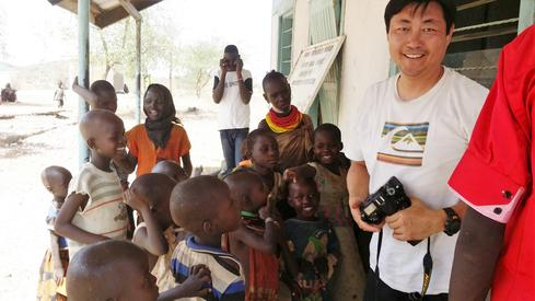 RippleNami cofounder Phil Gahn in Africa