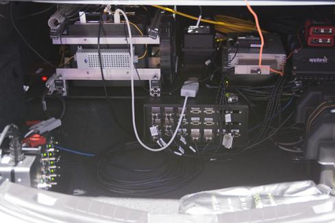 The virtual driver lives in a five-node Linux cluster in the trunk.