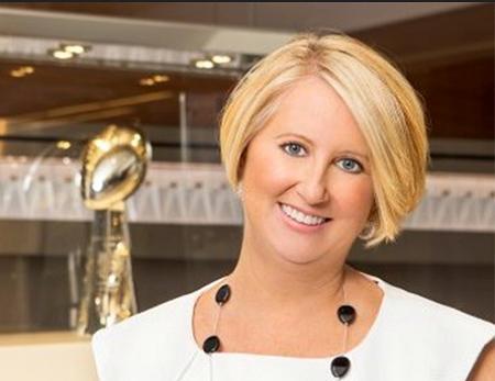 NFL CIO Michelle McKenna-Doyle (Image: NFL)