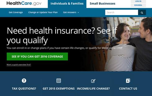 Healthcare.gov is more than just a website.  (Image via Healthcare.gov)
