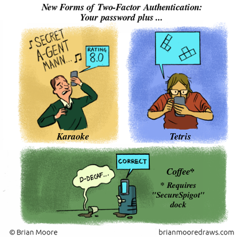 Comic Two Factor Authentication