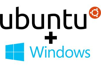 (Image: Curtis Franklin Jr. for InformationWeek. Individual logos courtesy Canonical and Microsoft)
