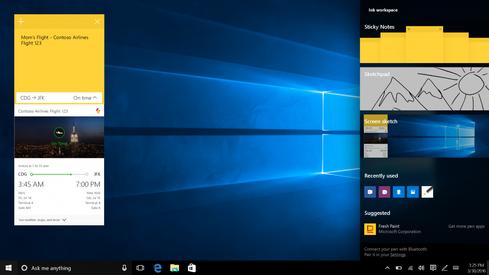 (Windows Ink. Image: Microsoft)