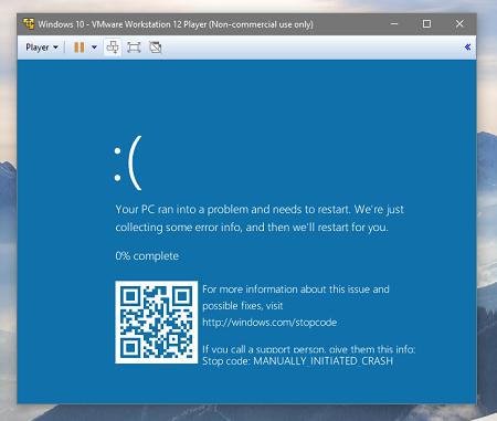 windows 10 restart error code