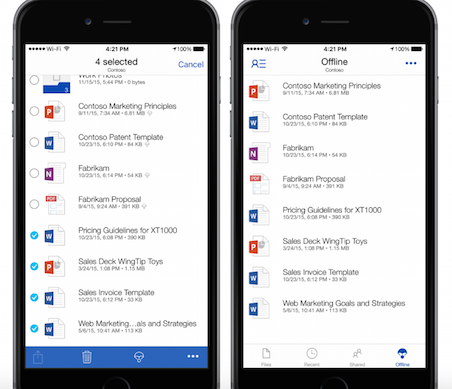 Microsoft OneDrive For Business Gets New Features, Admin