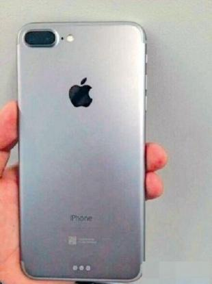 Alleged to be a leaked image of an iPhone 7.
