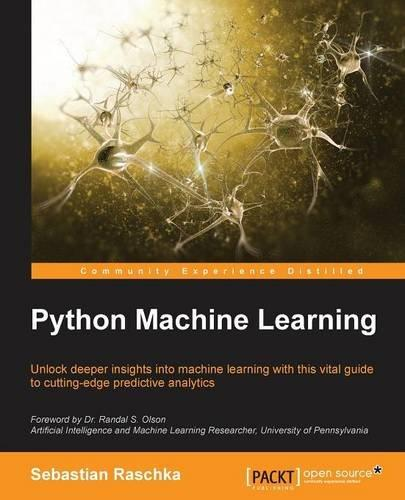 Python Machine Learning Python is one of the top languages suggested for data scientists to learn, and it's a skill that commands more money during salary negotiations. For any data scientist, aspiring data scientist, or developer looking to add this language to their skill set, Python Machine Learning could be essential reading. The book promises to help readers leverage Python's open-source libraries for deep learning, data wrangling, and data visualization. It offers help with learning strategies and best practices for improving and optimizing machine learning systems and algorithms.   Author: Sebastian Raschka  Price: $22.39 on Kindle, $40.47 in paperback (Image: Amazon.com)