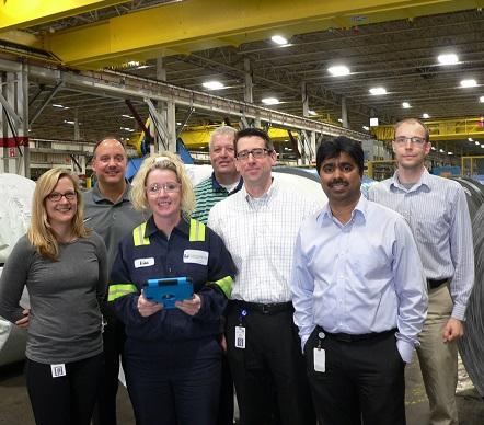 The mobile team. (Image: Worthington Industries)