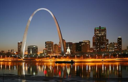 St. Louis, Missouri The St. Louis area has 49,450 job openings and a job satisfaction rating of 3.3. Employees earn a median base salary of $56,896, and the median home value is $141,900. The strongest tech jobs in St. Louis include software developer, data scientist, and IT project manager. (Image: Daniel Schwen via Wikimedia Commons)