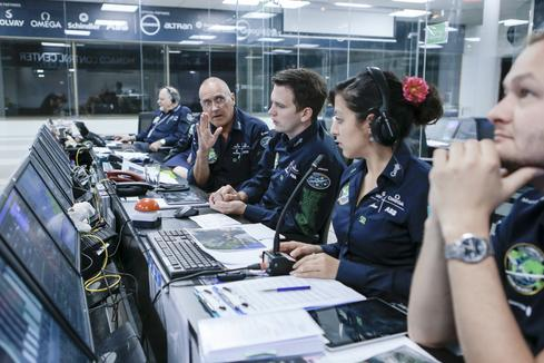 Monaco Mission Control center is guiding every move made by Solar Impulse 2 as it crosses the Atlantic. (Image: Courtesy of Solar Impulse 2)