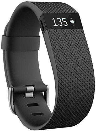 Maximize Your Fitness While On The Beach  There are quite a few fitness trackers on the market, but the Fitbit Charge HR still gets some of the highest ratings, thanks to a simple, lightweight design and featuring automatic, continuous heart rate and activity tracking. You can track steps, distance, floors climbed, sleep quality and more, and stay connected with Caller ID and time of day on the display. Price: $123.95 (Image: Fitbit)
