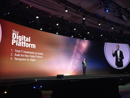 Peter Sondergaard onstage at Gartner Symposium ITxpo 2016.