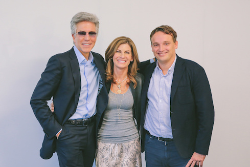 Bill McDermott, Jennifer Morgan, and Christian Klein