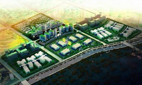 Sketch of Langfang datacenter