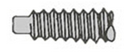 Dog Point Screw Detail