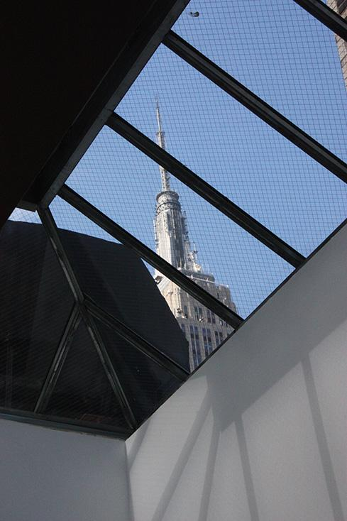 ValueStream Labs' midtown office is a few blocks from the Empire State Building. A number of startups currently call this space their main office. In addition to helping entrepreneurs hone business plans, meet with investors, and expand their business, ValueStream has a fund that invests in companies. The skylights in the unique office provide ample natural light.